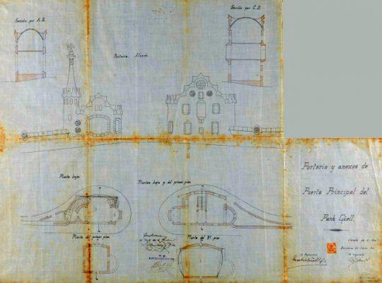 Plano Porteria y anexos 001